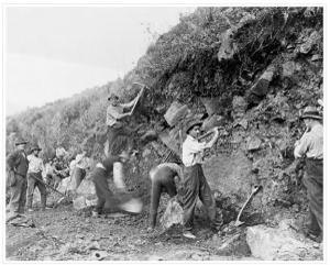 cliff-digging