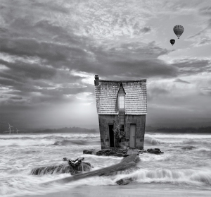 The Beach House by Deb Gartland_8 Image Blend