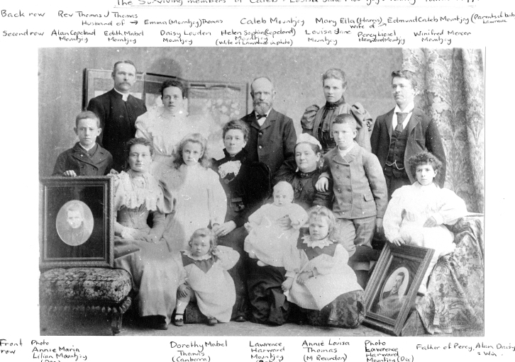 Mountjoy family 1897