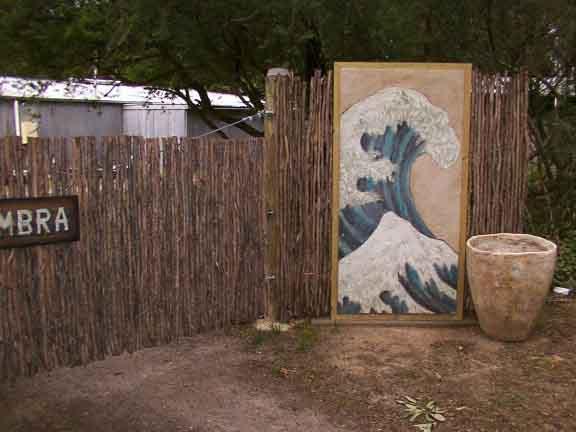 Gate Fresco