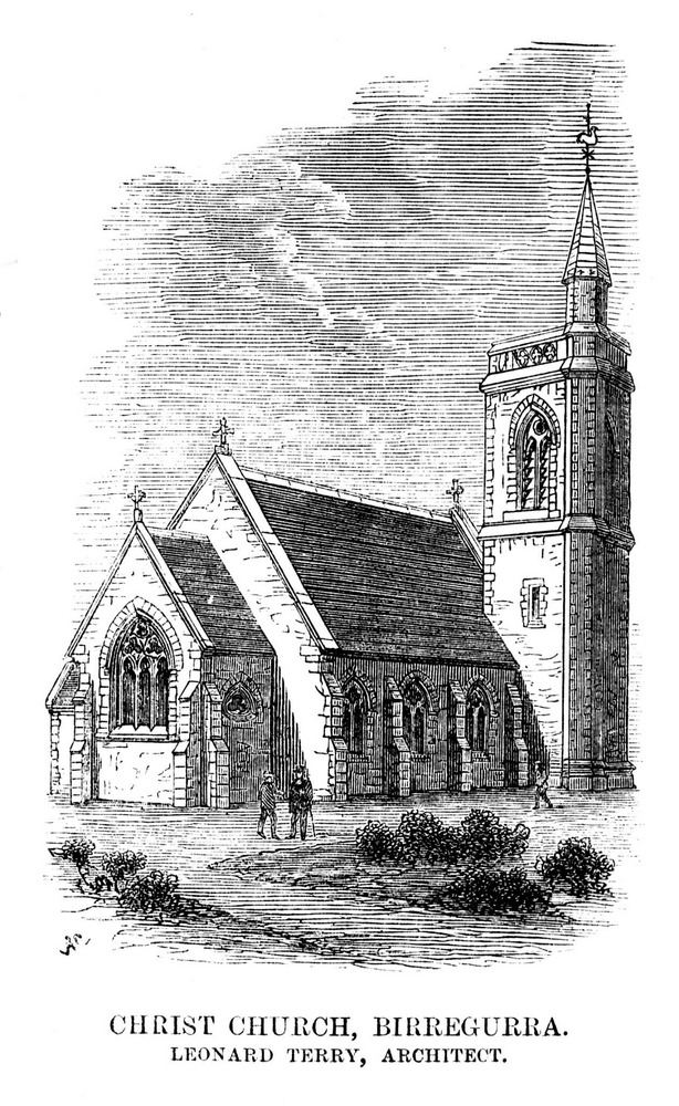 Christ Church Birregurra sketch