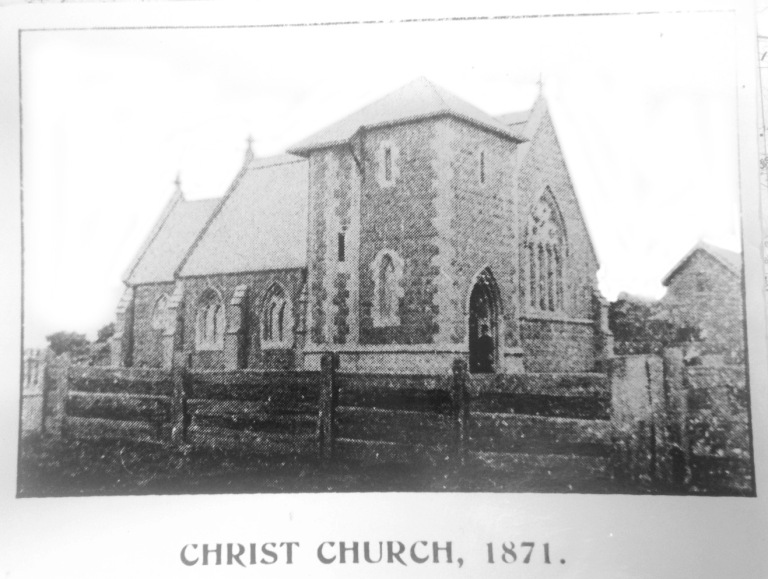 Christ Church without the steeple 1871