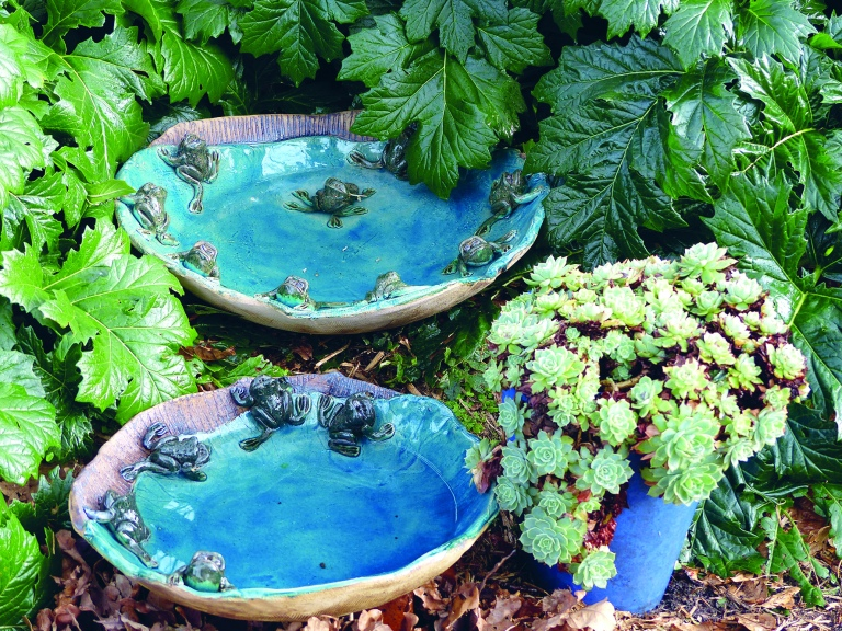 old faithful frog bowls I have been making for years