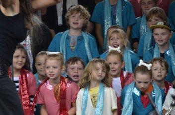 OMM Rock kids at Deans Marsh