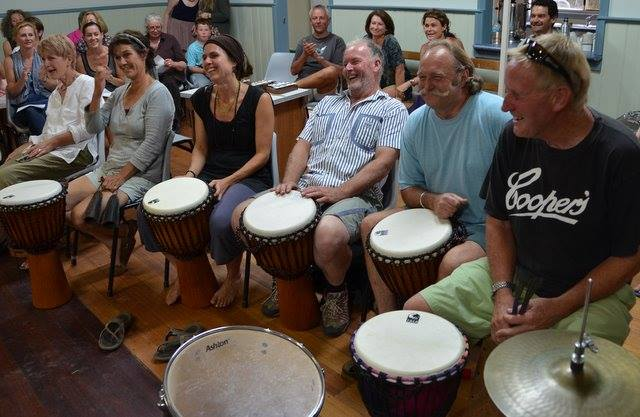 Percussion Group by Stuart Fry