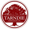 Tarndie dark red logo