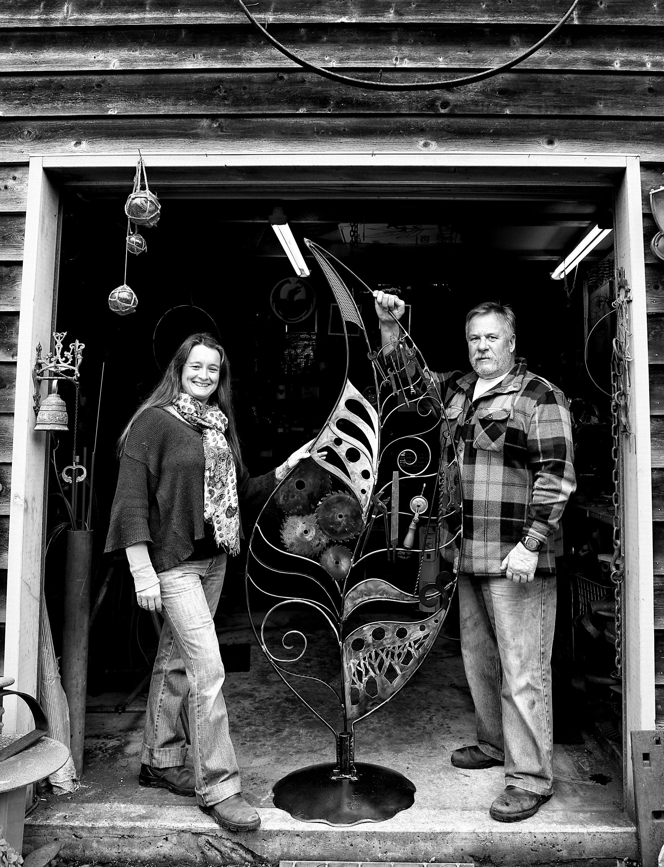Studio 66 – CREATIVE METALWORK by Cinnamon and Rowan Stephens