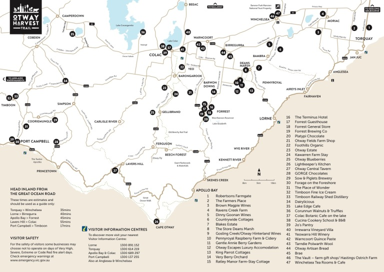 oht brochure 2018 map